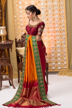 Indian wedding saree 07