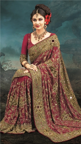 Indian wedding saree 08