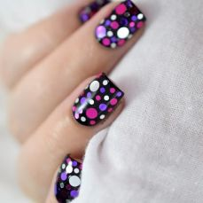 Simple nail art designs 54