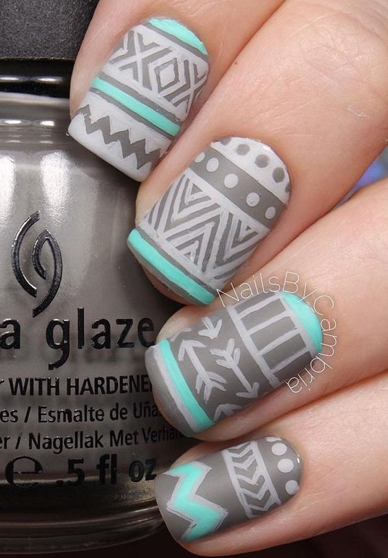 Simple Nail Art Designs 60 Indian Makeup And Beauty Blog Beauty