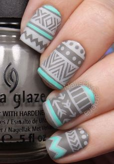 Simple nail art designs 60