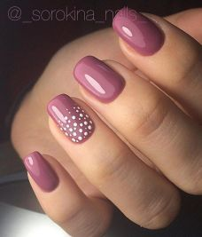 Simple nail art designs 61