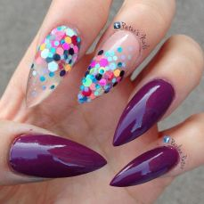Simple nail art designs 65