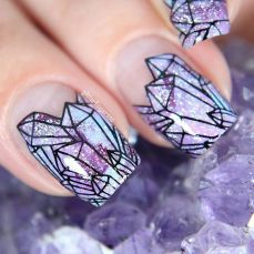 Simple nail art designs 66