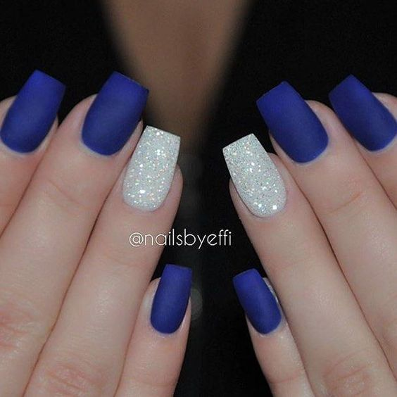 Simple nail art designs 76