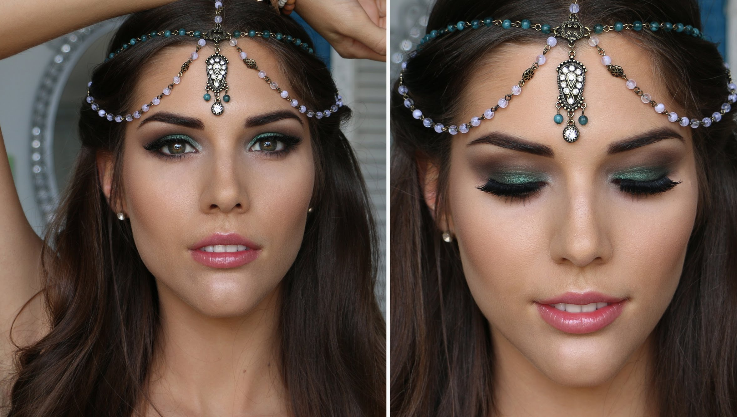 6 Smokey Eyes Makeup For The Festival Of Baisakhi Eyes Indian Makeup And  Beauty Blog Beauty Fall Classic Smokey Eye Makeup Tutorial