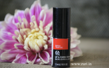 The Body Shop Lip & Cheek Stain - Dutch Tulip 01