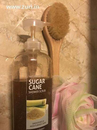 Watsons Sugarcane Shower Scrub 02
